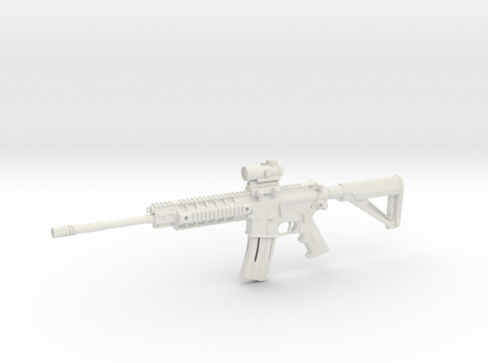 1:12 Miniature Sig Sauer 516 Tactical Patrol 3d printed