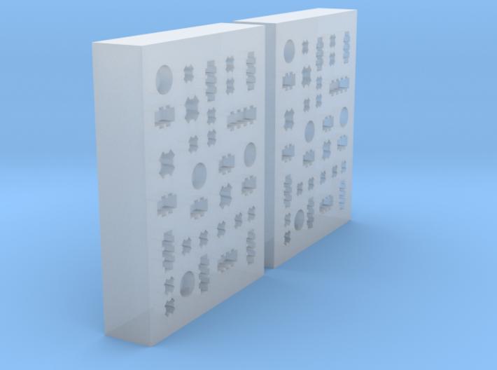 Office Blox 3d printed