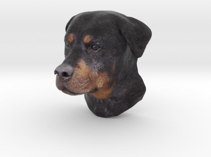 Wall mount / Rottweiler / 150mm / art.#MK011 3d printed