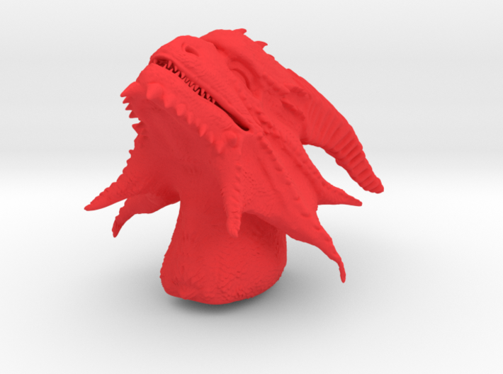 Dragon Head 3d printed