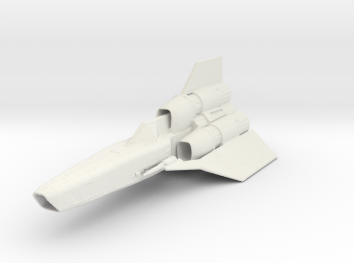 "Battlestar Galactica Viper II 4.8"" 3d printed"