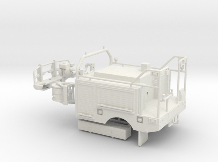 1/50th Wildlands Fire Brush Truck Body 3d printed