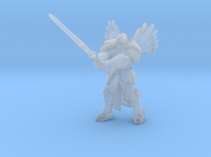 Tyrael 1/60 miniature for fantasy & rpg game angel 3d printed