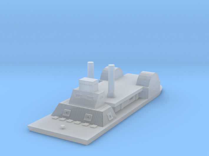 1/1200 USS Chillicothe 3d printed