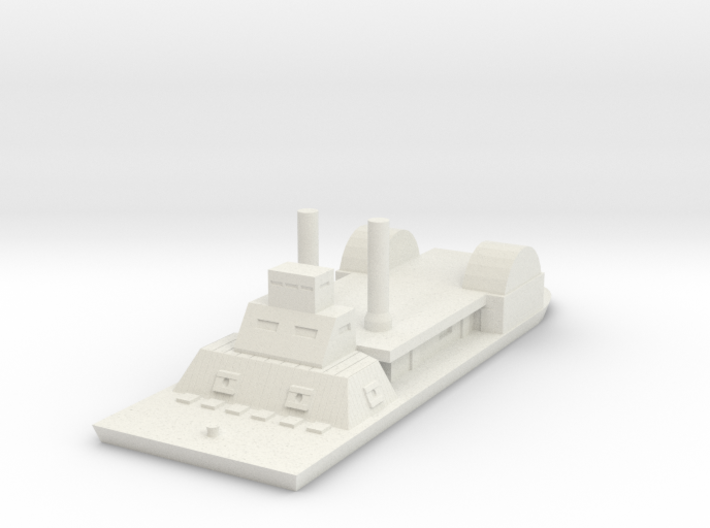 1/600 USS Chillicothe 3d printed