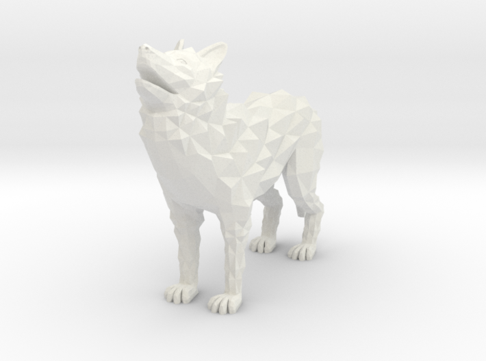 Timber wolf 3d printed