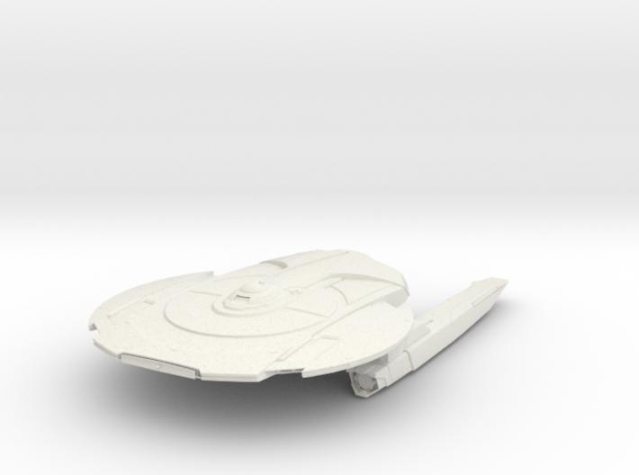 Federation Miranda Class IIA Cruiser 3d printed