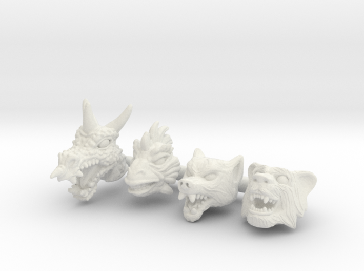 Beast Squad Headpack - Multisize 3d printed