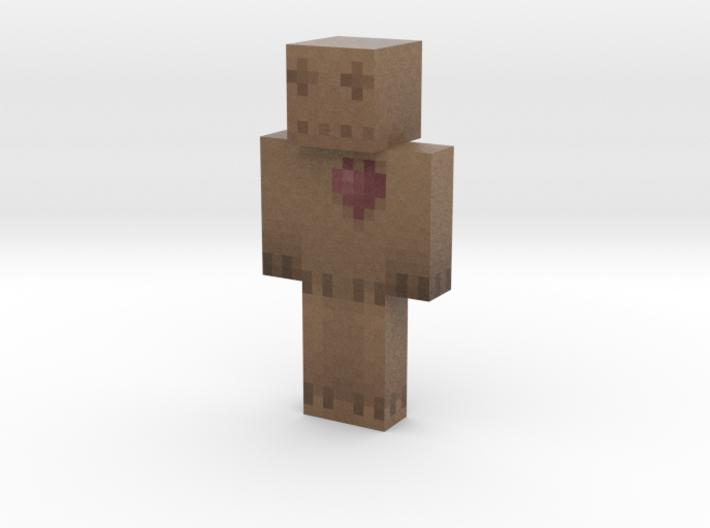 dollybites   Minecraft toy 3d printed