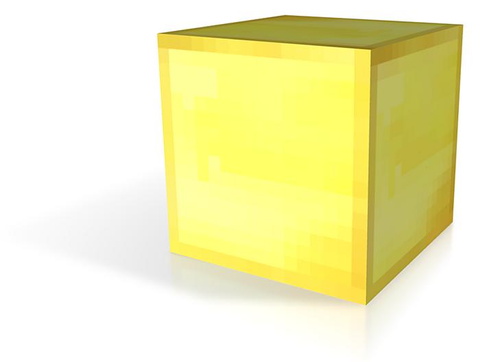 Gold Block 3d printed