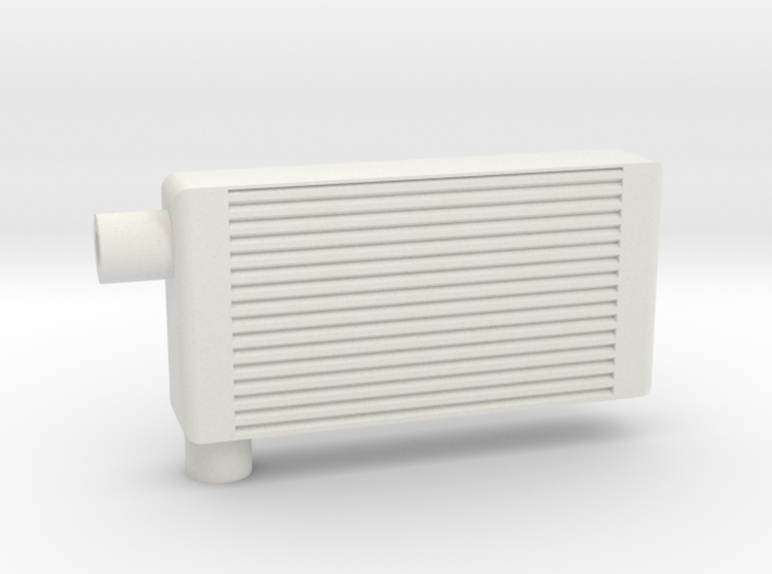 small oil cooler 3d printed