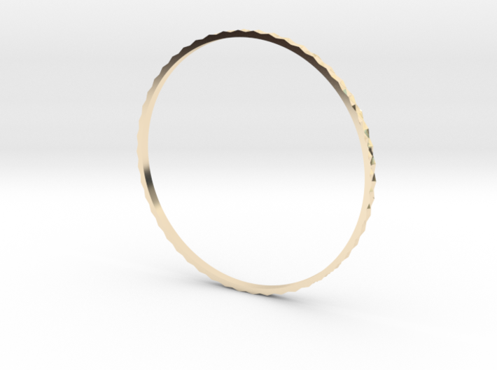 Classical patterned Bangle 3d printed