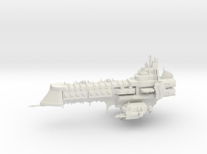 Capital Ship - Concept 2 3d printed
