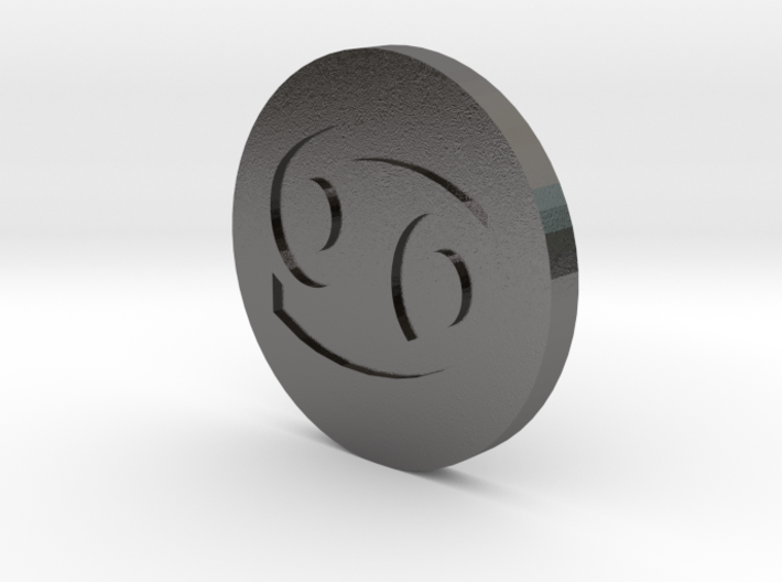 Cancer Coin 3d printed