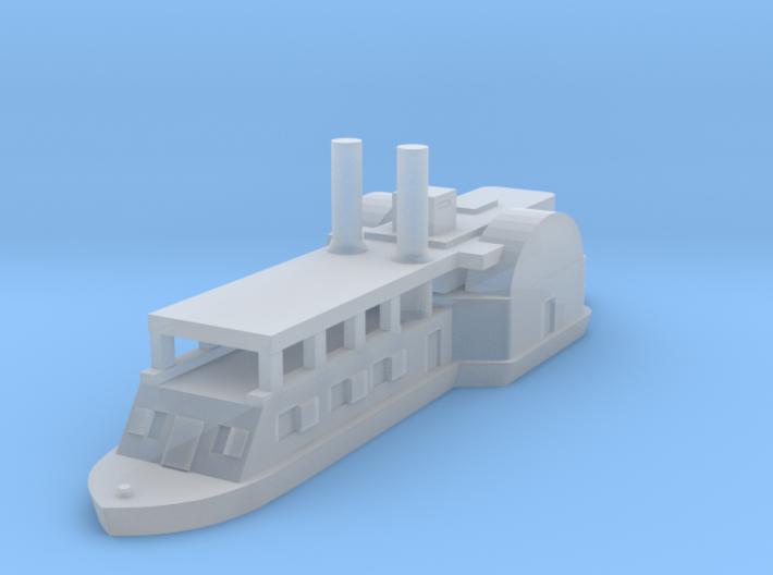 1/1000 USS Ft. Hindman 3d printed