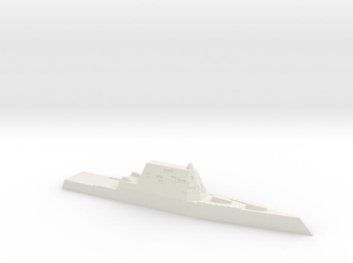 USS Zumwalt, 1/1250 3d printed