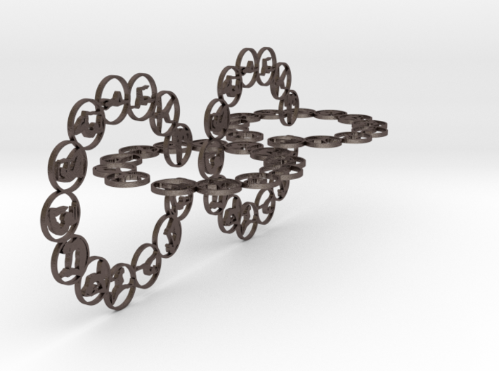 chain big 2.5mm 3d printed