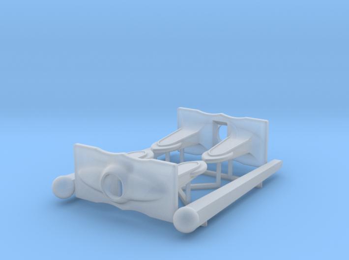 P Boat anchor set 1/48 3d printed