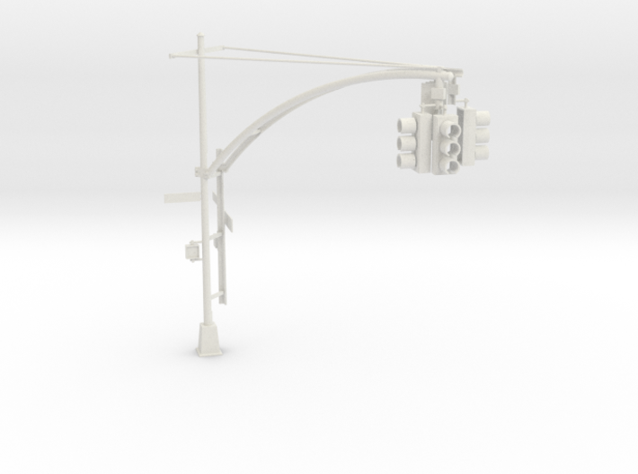 Traffic Light - New York City O scale #1 3d printed