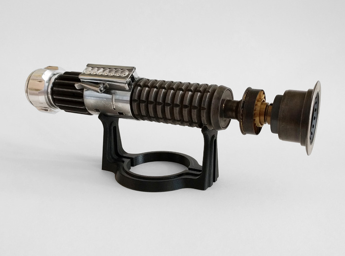 ADVENT Lightsaber Stand 3d printed