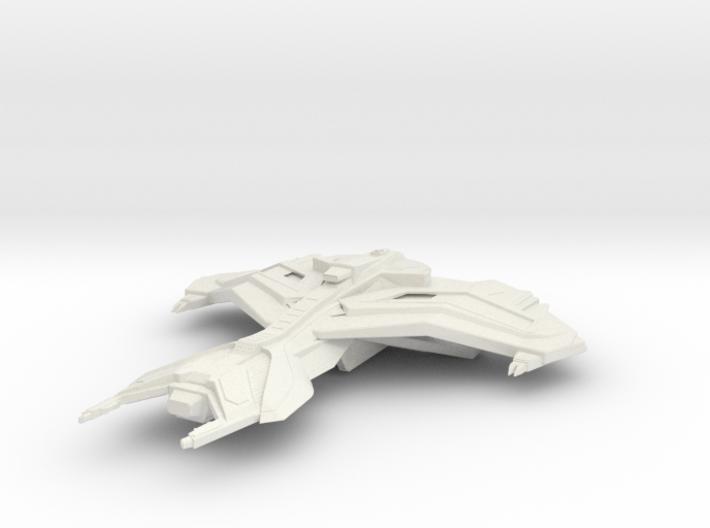 Ferengi Marauder Class Refit Cruiser 3d printed