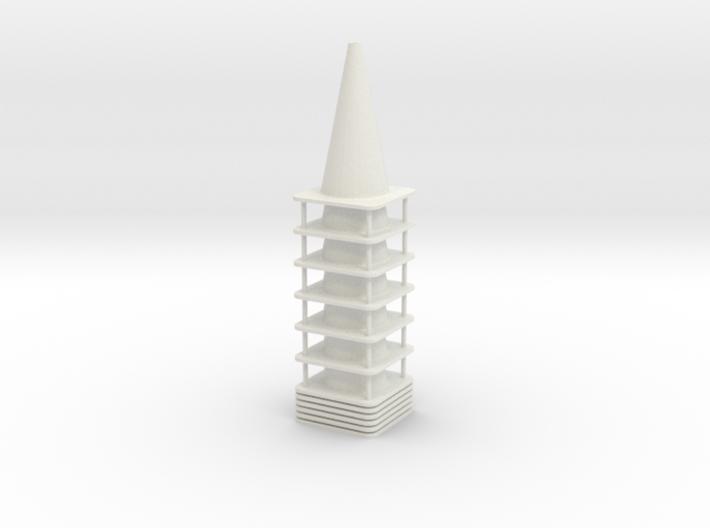 1-24_28in_traffic_cone 3d printed