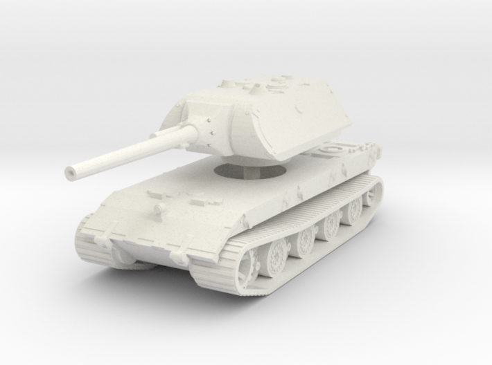 E 100 Maus 128mm 1/87 3d printed