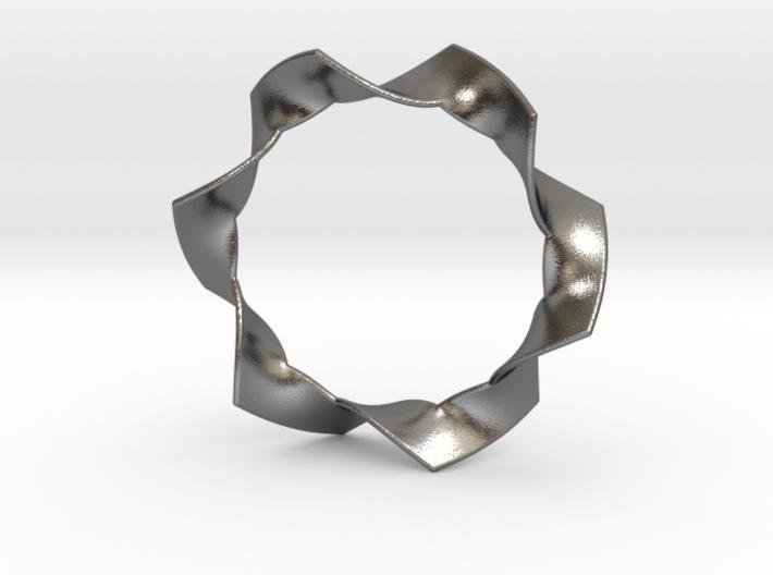 Folded Hexagram 3d printed
