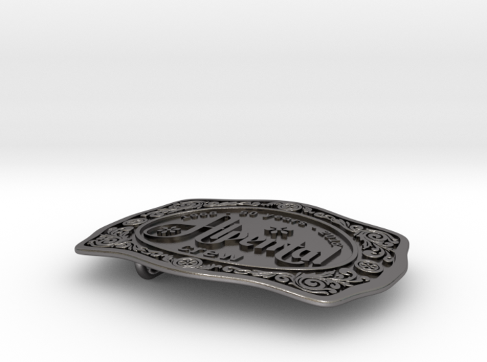 Alpental Crew Belt Buckle - #013 3d printed