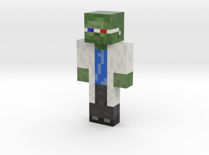 DrEnfermo | Minecraft toy 3d printed