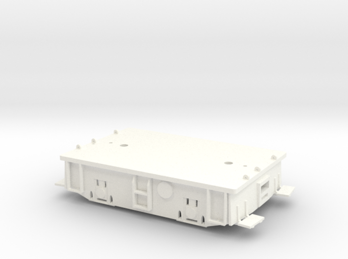 O scale 23 Ton Box Cab Standard Gauge Frame 3d printed