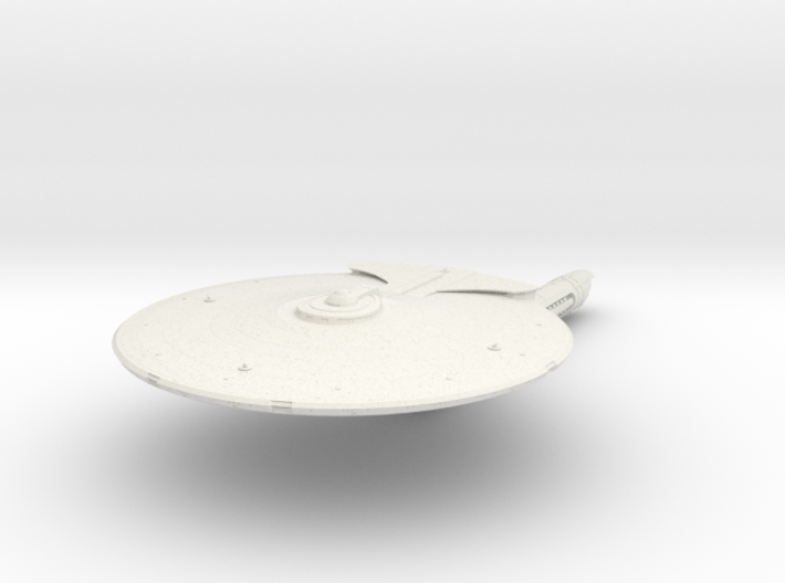 Federation Mason Class Destroyer 3d printed