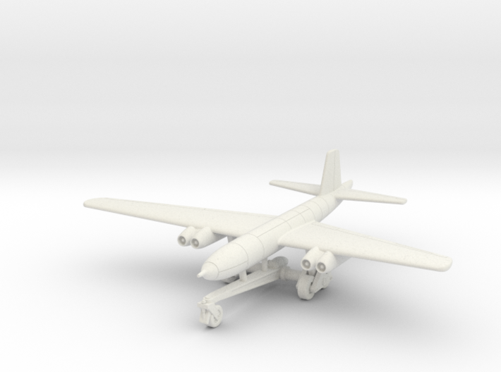 (1:144) Junkers Ju 287B-1 (On Take-off Trolley) 3d printed