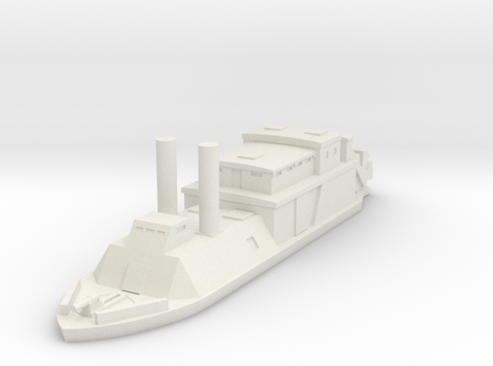 1/600 USS Barataria 3d printed