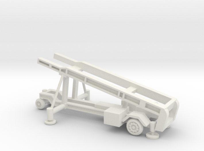 1/87 Scale MK4 Regulus Missile Launcher 3d printed