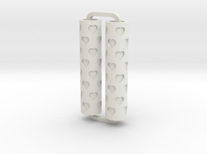 Slimline Pro hearts 02 lathe 3d printed