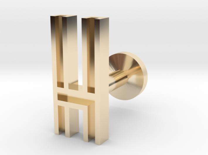 Letter H 3d printed