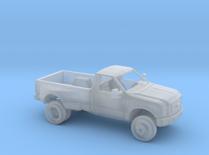 1/160 2007-10  Ford F Series RegCab Dually Kit 3d printed