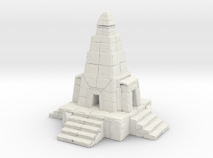 Temple 3d printed
