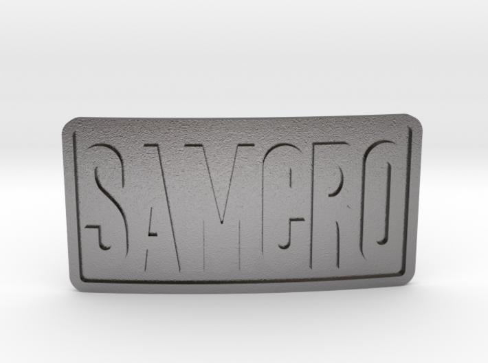 Samcro Belt Buckle 3d printed