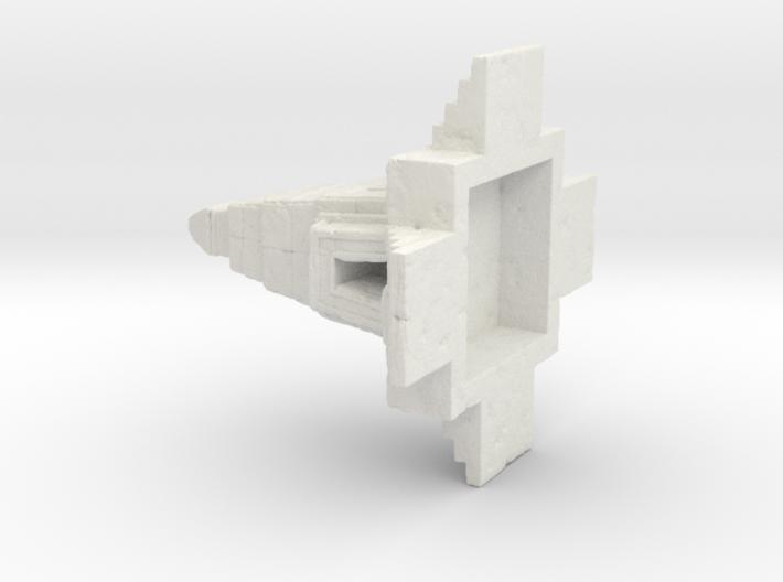 Temple 3 cm 3d printed