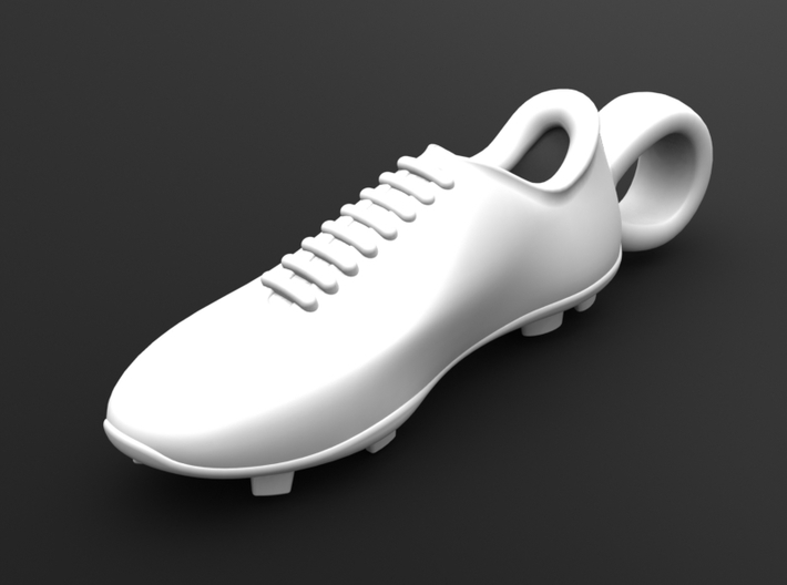Soccer shoe 3d printed