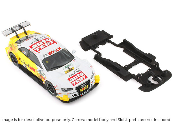 S01-ST3 Chassis for Carrera Audi A5 DTM SSD/LMP 3d printed