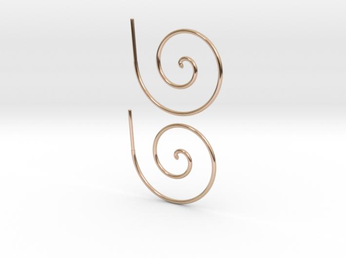 Archimedes Spiral 3d printed