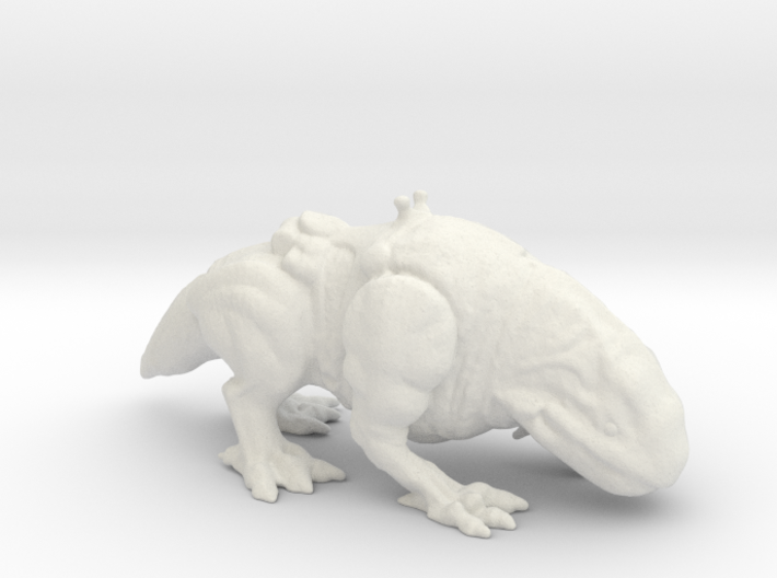 Star Wars Dewback 1/60 miniature for games and rpg 3d printed