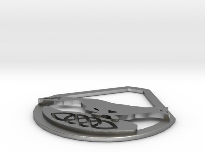 Celtic Zodiac Fox Pendant 3d printed