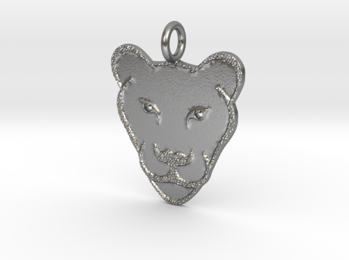 Lioness 3d printed