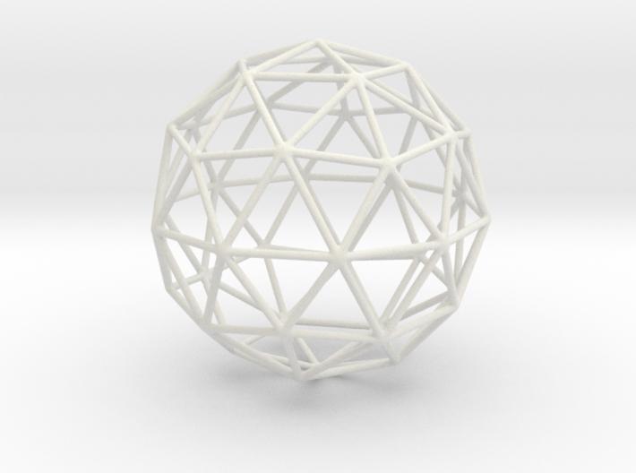 geodesic 2V full sphere 3d printed