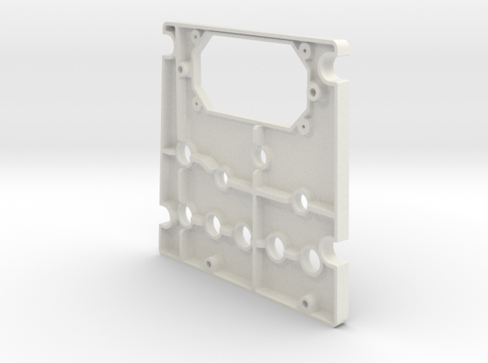 T6 Port Side Forward Switch Plate Cover 3d printed