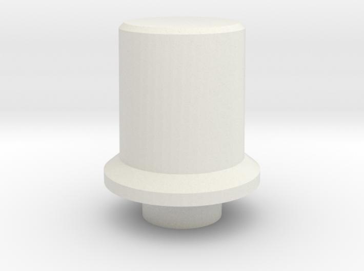 T6 Port Side Dimmer Switch Pot Knob 3d printed